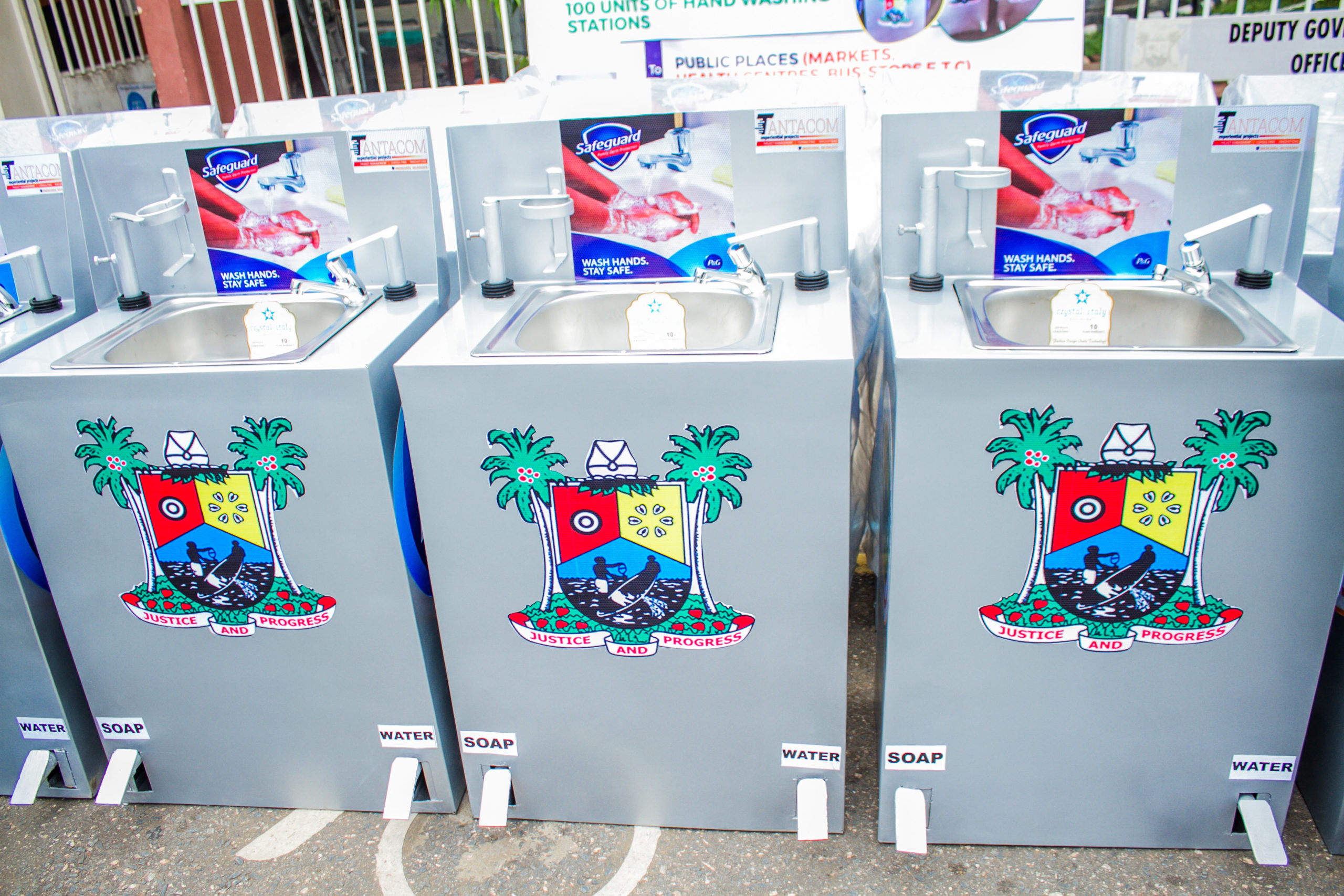 P&G Concludes 2nd Phase of its COVID-19 Intervention With the Donation of Over 150 Handwashing Stations to State Govts