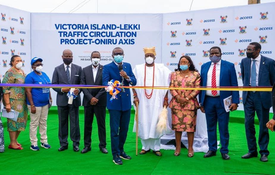 Sanwo-Olu Commissions 7 Roads in Oniru-Victoria Island Axis (Photos)