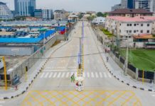 Sanwo-Olu Commissions 7 Roads in Oniru-Victoria Island Axis (Photos)
