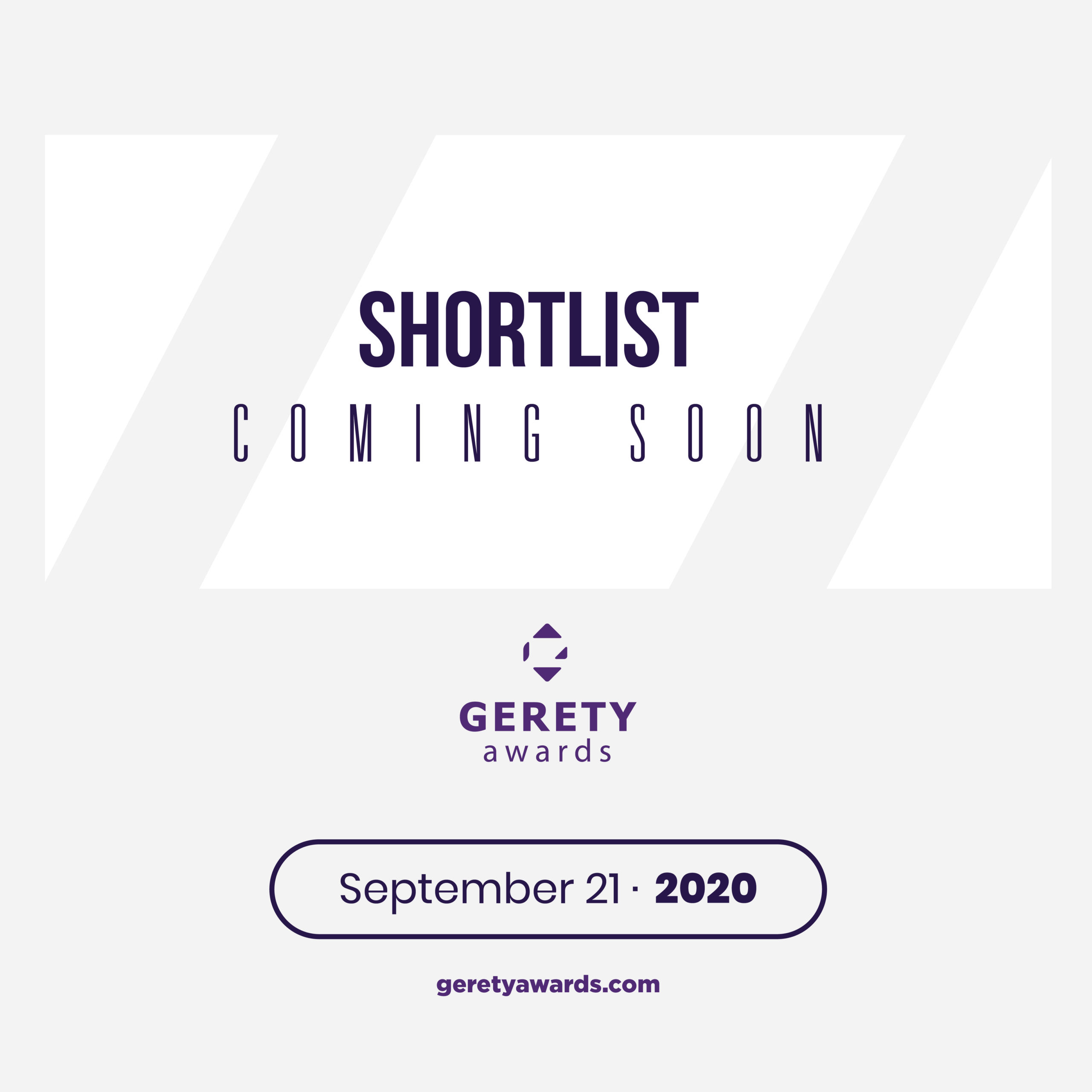 Gerety Shortlist To Be Announced Next Week Followed By Live Jury Panels Around The World.