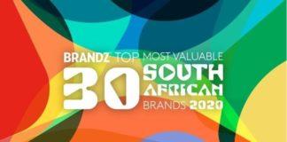 top 2020 BrandZ™, beer, bank, Most Valuable South African Brands,