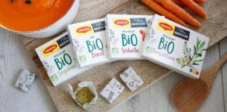 recyclable paper, Nestlé, Maggi organic bouillon cubes