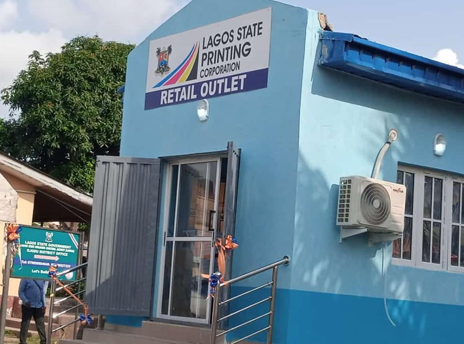 Lagos Printing Corporation Gets New Retail Outlet At Old Secretariat, Ikeja