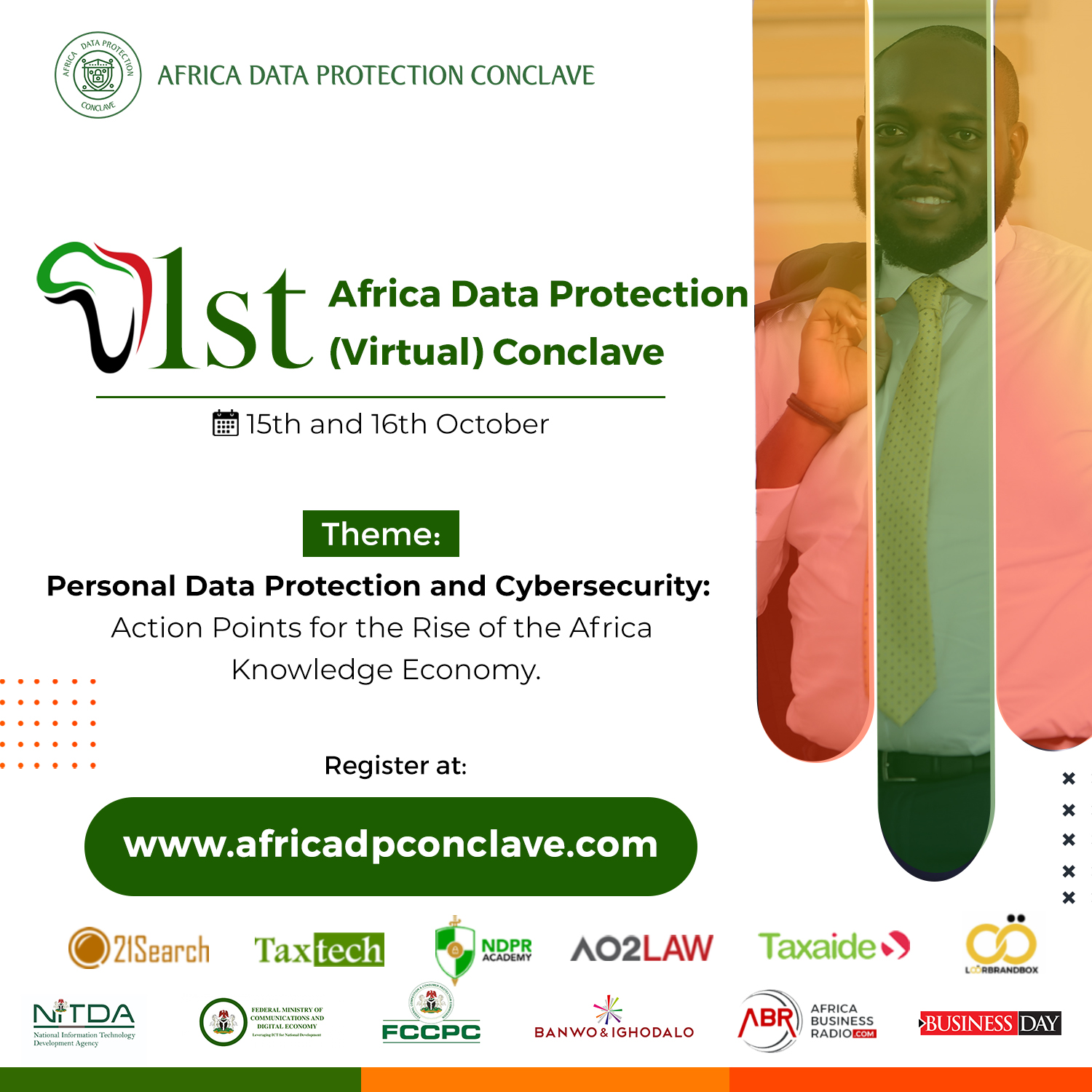 1st Africa Data Protection Conclave set to hold October 15th and 16th   www.brandspurng.com