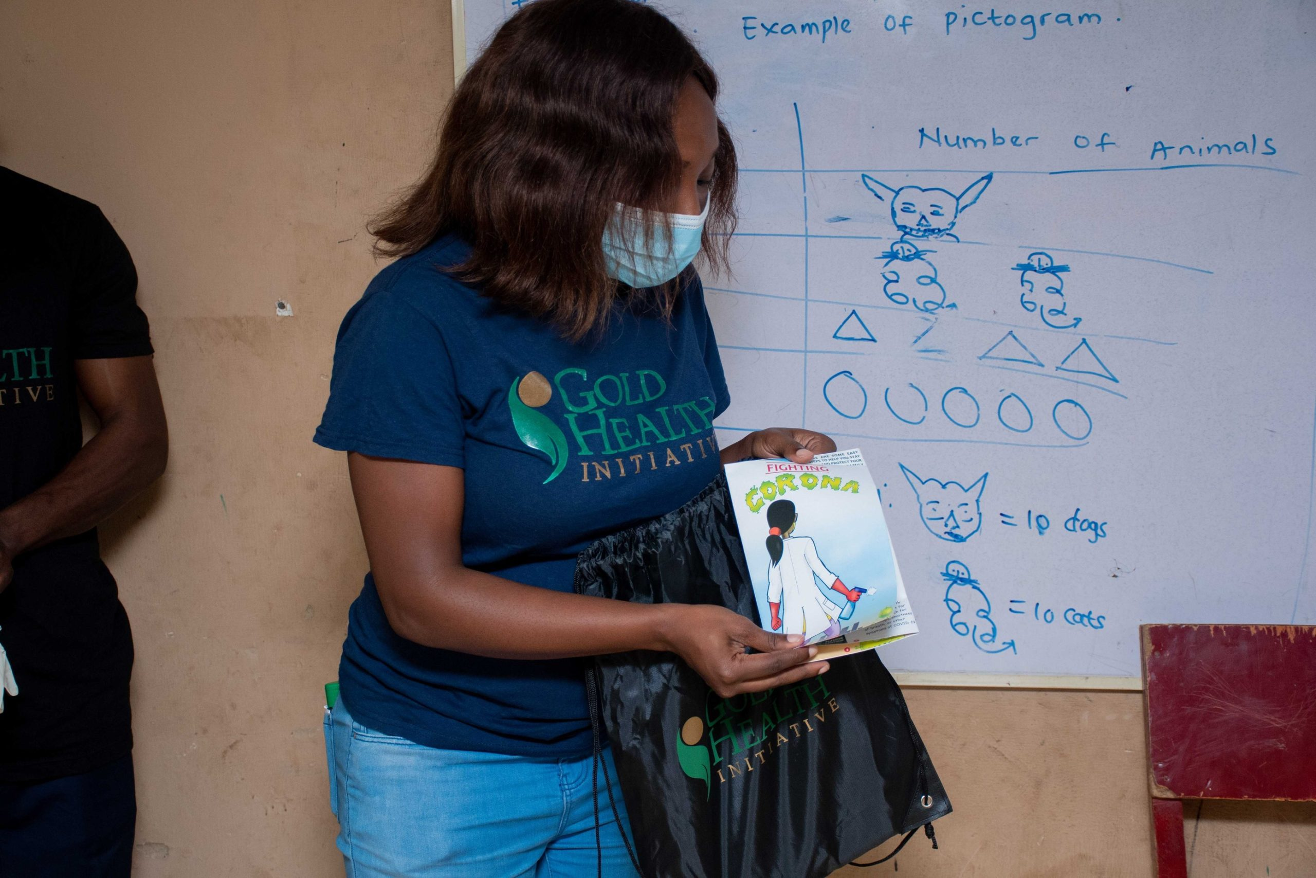 200 Children empowered with knowledge, school wash station and hygiene kit to tackle the spread of disease. Brandspurng