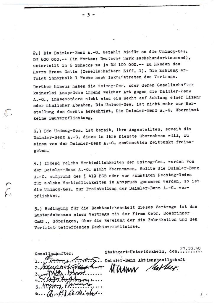 70 years ago Daimler-Benz bought the Unimog