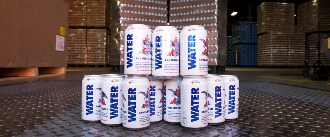 Anheuser-Busch Delivering 300,000 Cans of Emergency Drinking Water to Support Wildfire Relief Efforts