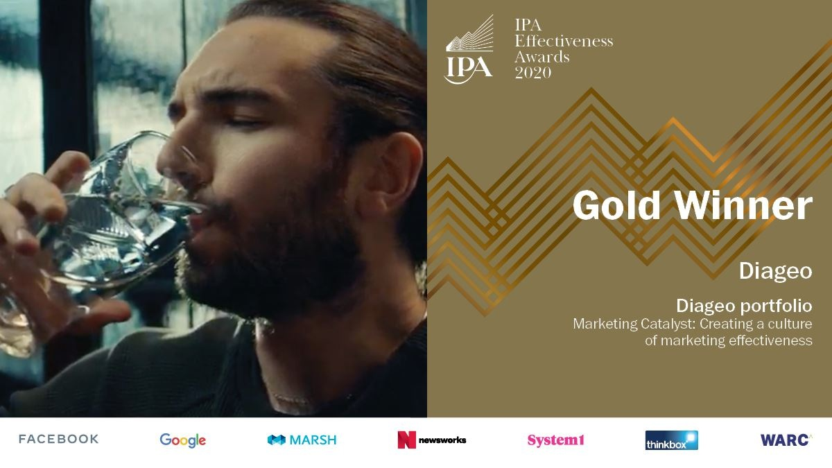 Back to listing Diageo wins seven awards at the IPA Effectiveness Awards