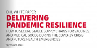 Delivery of COVID-19 vaccines: DHL study shows how public and private sector can partner for success