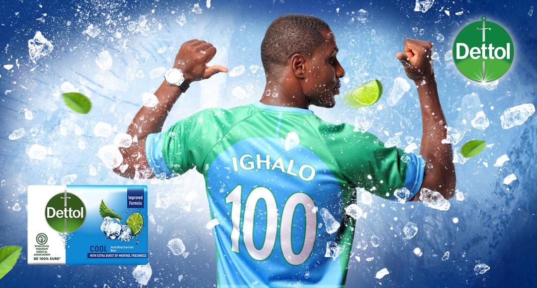 Dettol Cool Announces Ighalo As Brand Ambassador