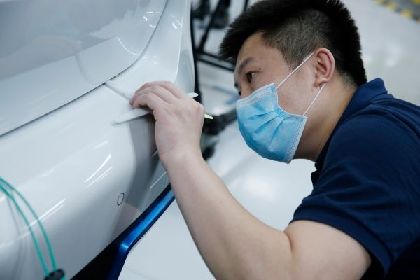 First BMW iX3 comes off production line at BMW Brilliance Automotive