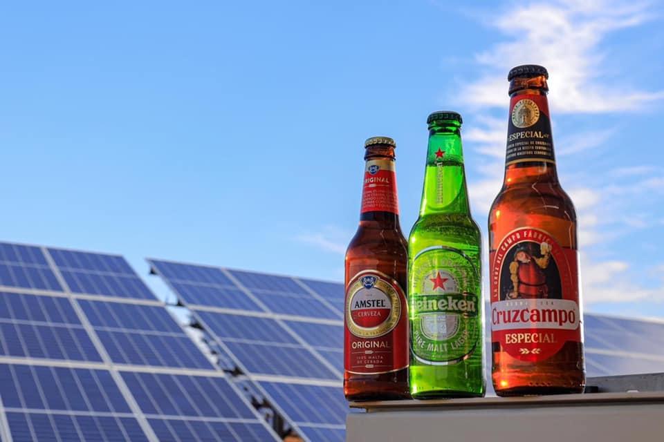 HEINEKEN Spain unveils newest ingredient to brew with 100% green electricity