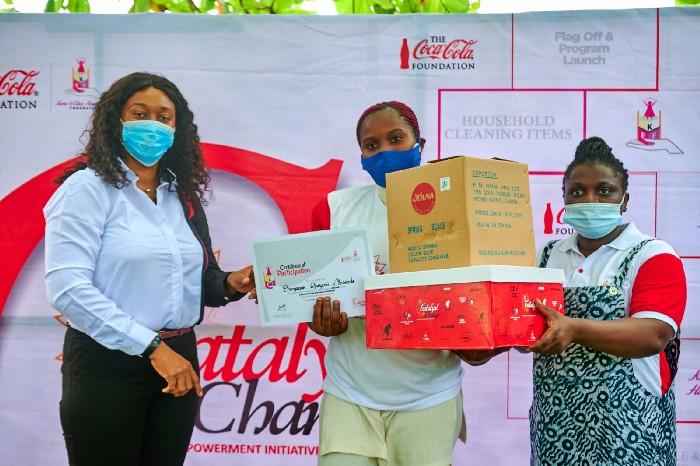 Jubilation In Sangotedo Community As Coca-Cola Empowers Over 600 Women
