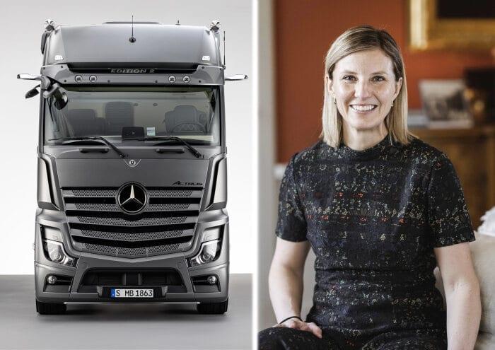 Karin Rådström takes over management of Mercedes-Benz Trucks on 1 February 2021