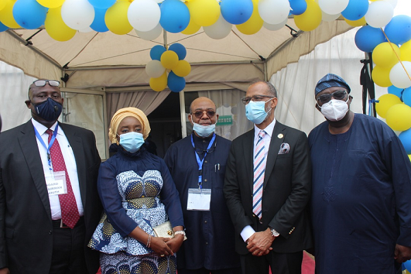 Lagos Govt Commissions N60m COVID-19 Holding Bay, High Care Unit At LASUTH