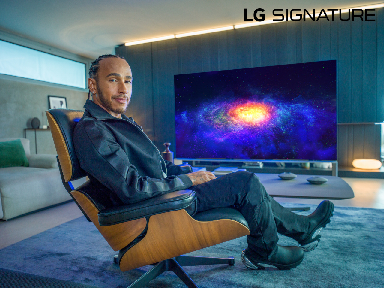 LG signs F1 Champ Lewis Hamilton as Ambassador of LG Signature