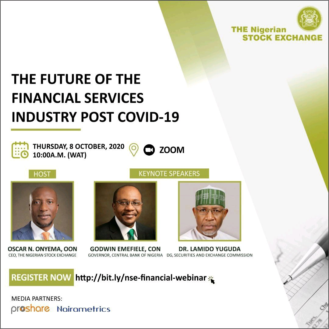 NSE to Host Industry Leaders at Financial Services Webinar