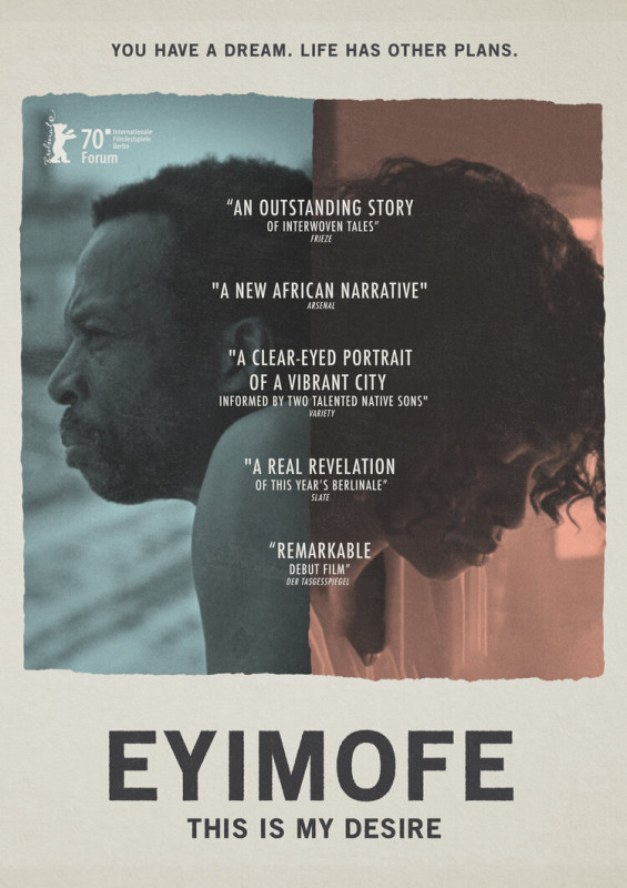 Nigerian film Eyimofe set for London premiere, Brandspurng debuts trailer, as part of activities to celebrate Nigeria's 60th Independence Day anniversary