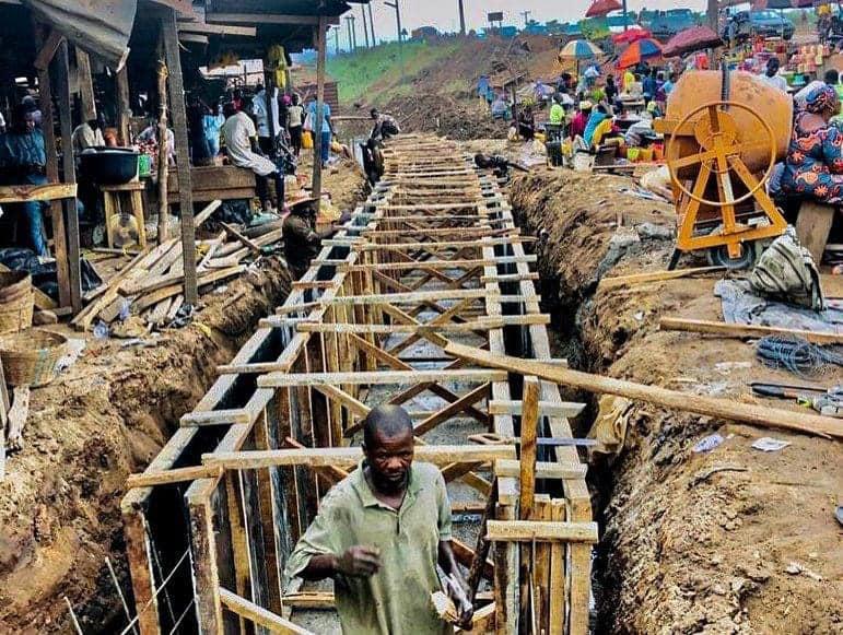 Ogun State begins Palliative Works at Ota-Idiroko Road (Photos) - Brand Spur