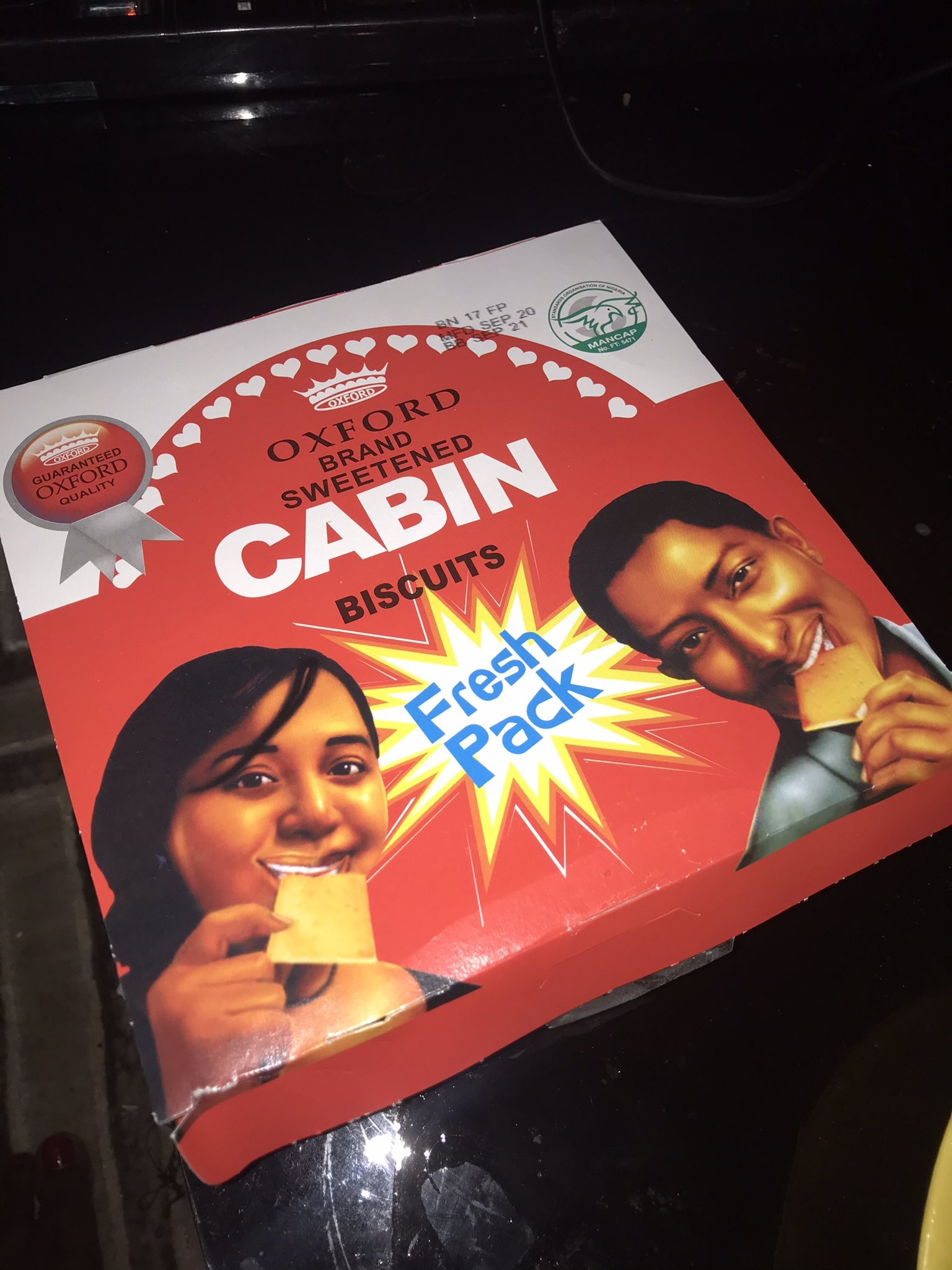 Oxford Cabin Biscuit - still a gem 60 years later