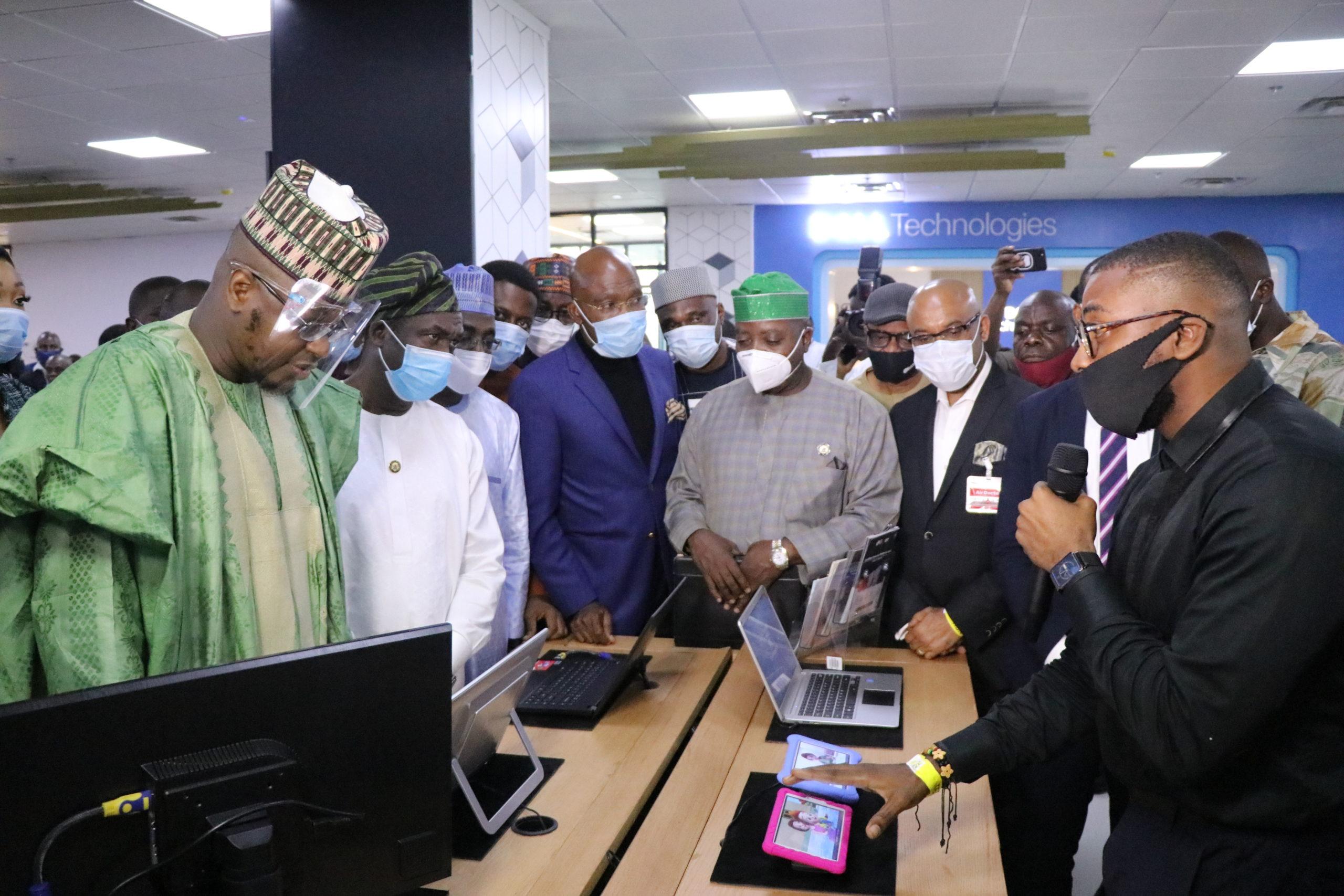 Pantami, Sanwo-Olu, Abdullahi, Ndukwe, other dignitaries grace Tech Experience Centre launch (Photos)