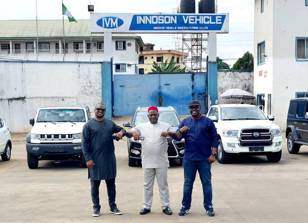 Plentywaka partners with Innoson Vehicle Manufacturing (Photos)