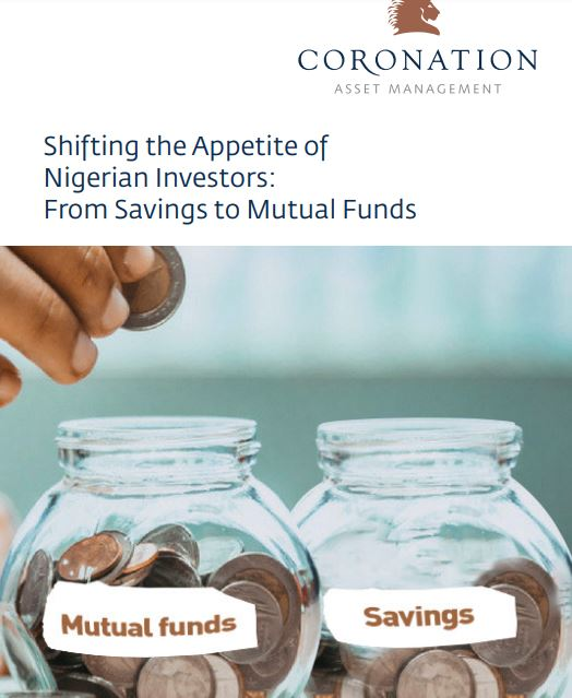 Shifting the Appetite of Nigerian Investors From Savings to Mutual Funds Brandspurng