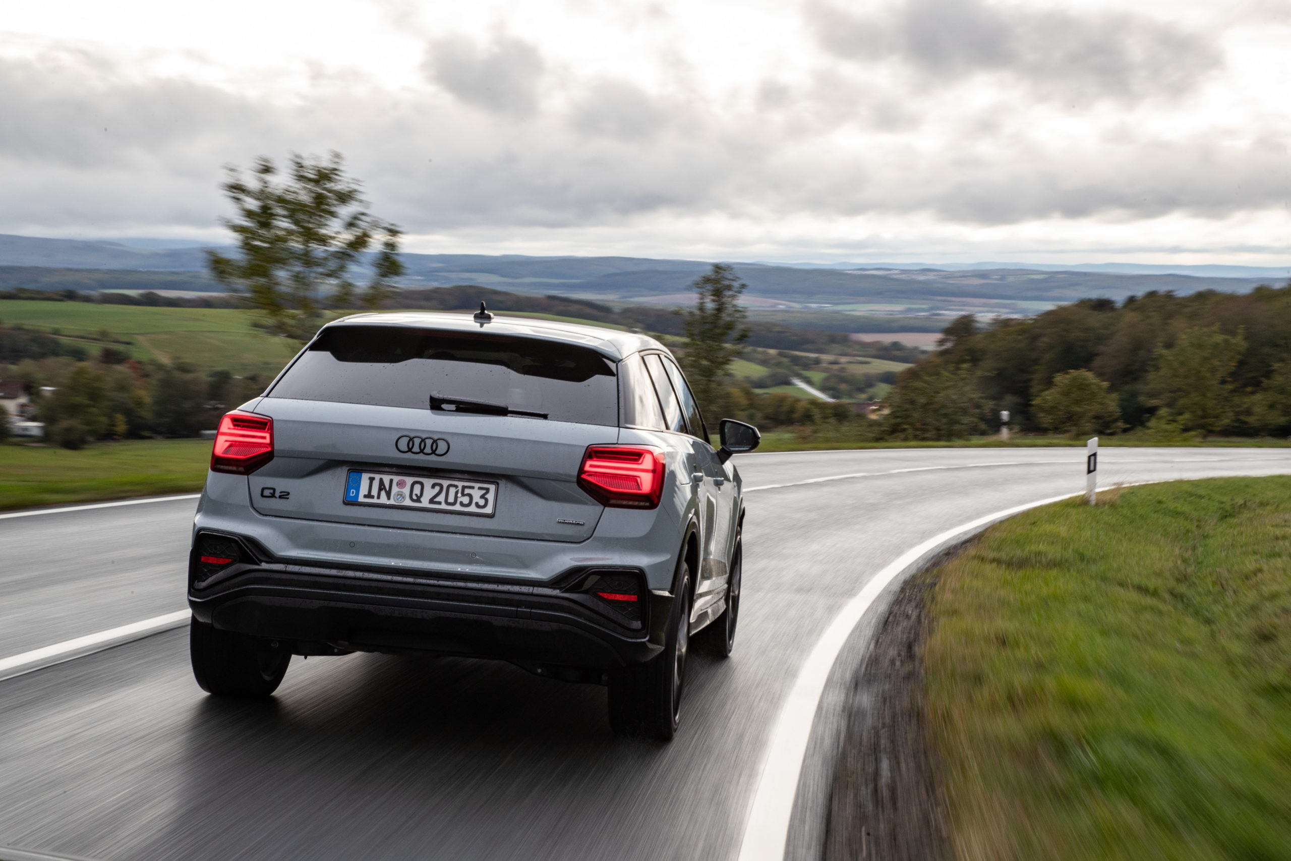 The Audi Q2 in new top form - Brand Spur