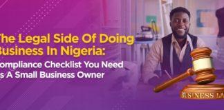 The Legal Side of Doing Business in Nigeria: Compliance Checklist You Need as a Small Business Owner