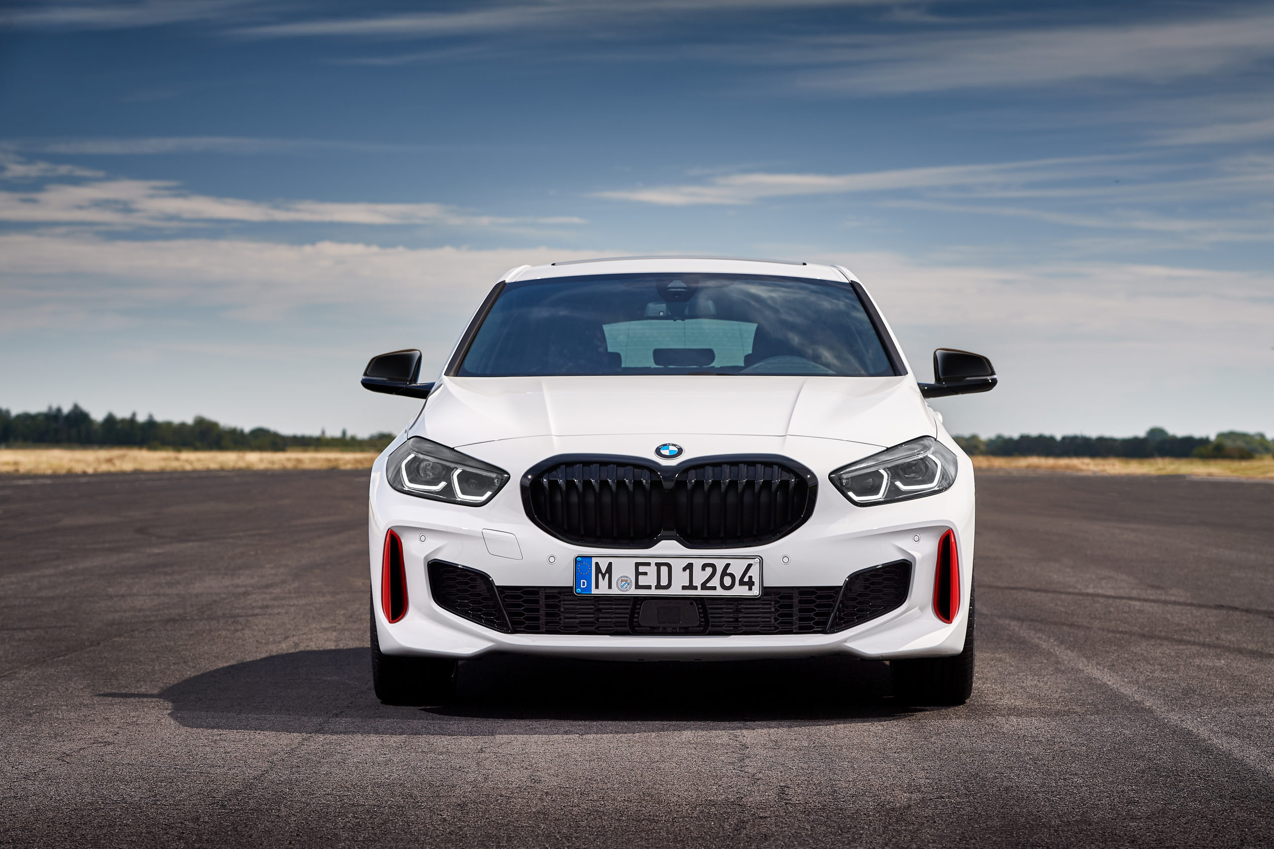 The new BMW 128ti. (BMW Group PressClub Global)