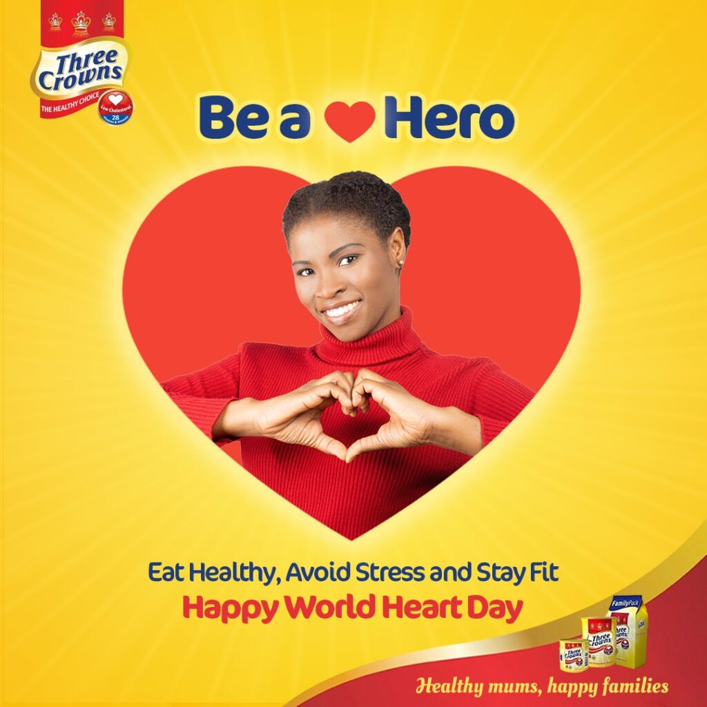 Three Crowns Milk partners K-Dove Gym, others to Mark World Heart Day (Photos)