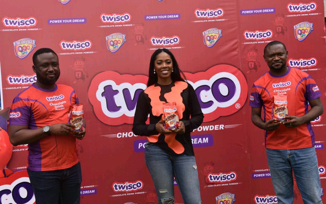 Tiwa Savage unveiled as Twisco Brand Ambassador (Photos)