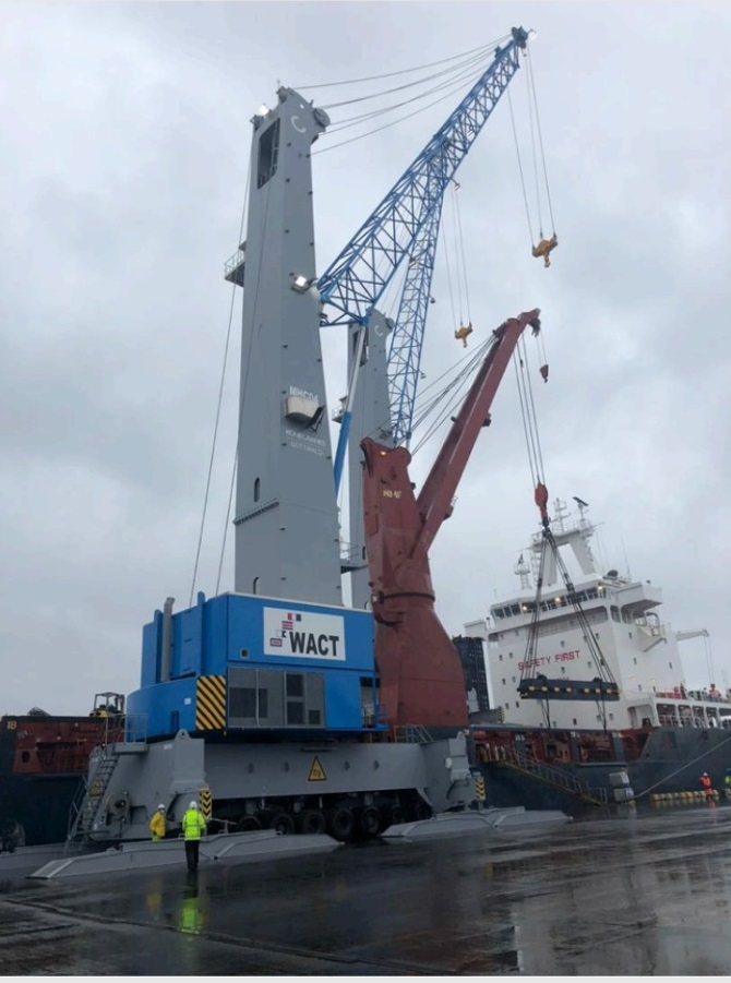 WACT Commissions $15m Additional MHCs, Reach Stackers at Onne Port