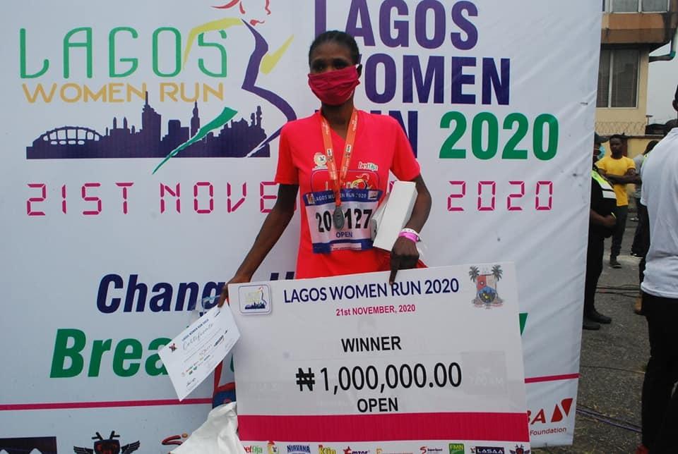 2020 Lagos Women Run: Dalyon Emerges Winner