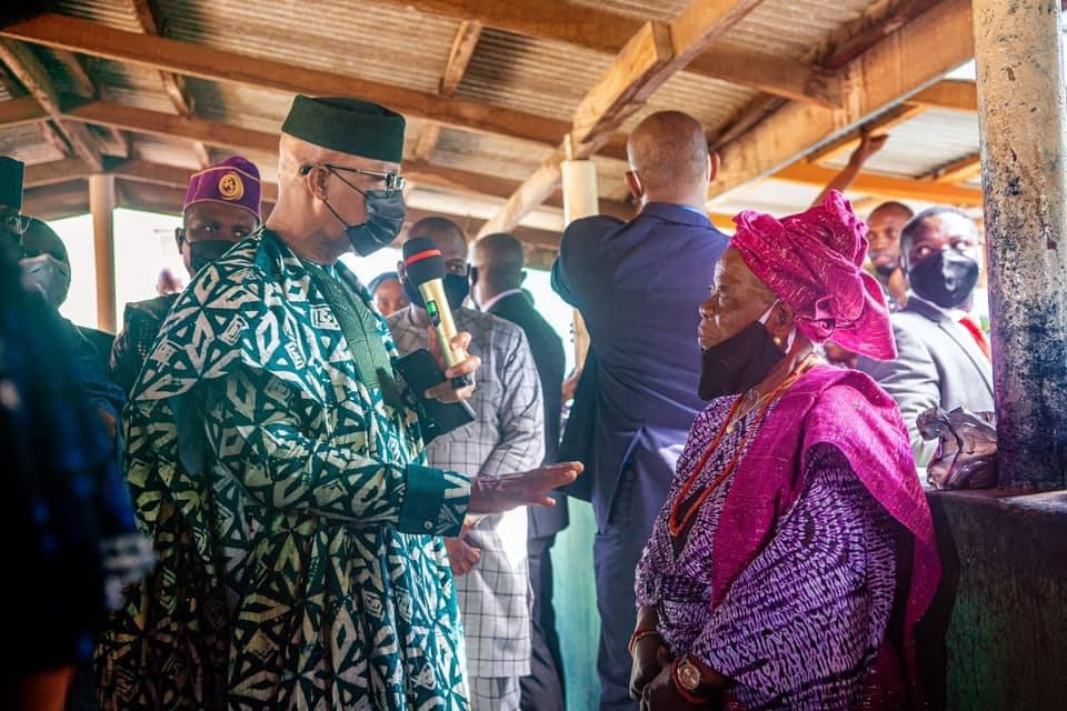 #AdireOgun: Minister Hails Launch of Digital Platform To Market Tie and Dye Fabrics in Ogun State (Photos)
