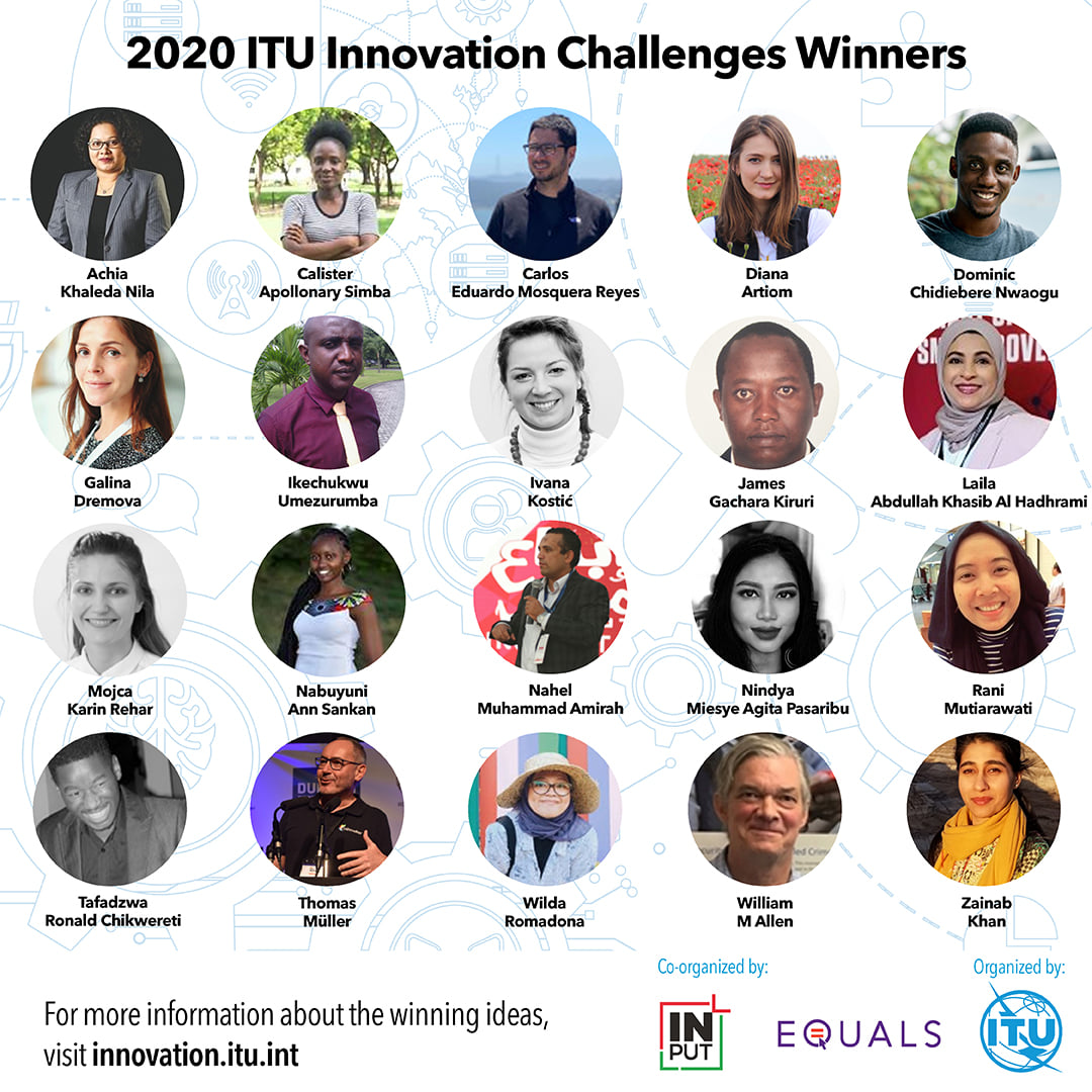 "Chidi Nwaogu Named ""Big Winner"" At The 2020 ITU Global Innovation Challenge"