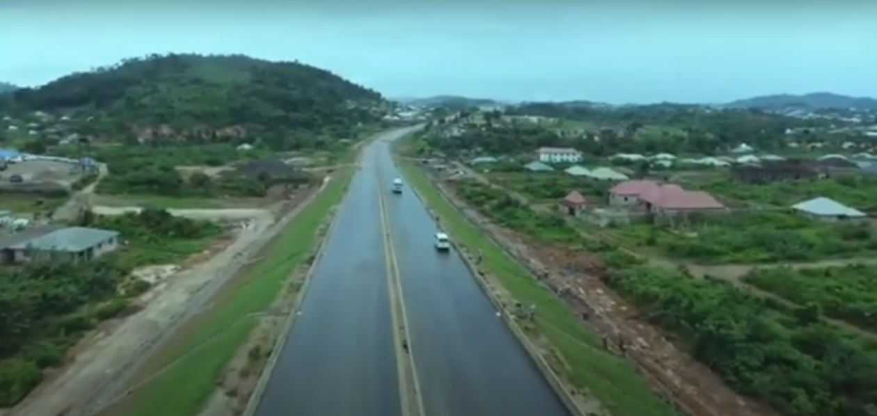 Construction of a 4-lane dual carriage New Ado-Iyin-Aramoko-Itawure road is ongoing