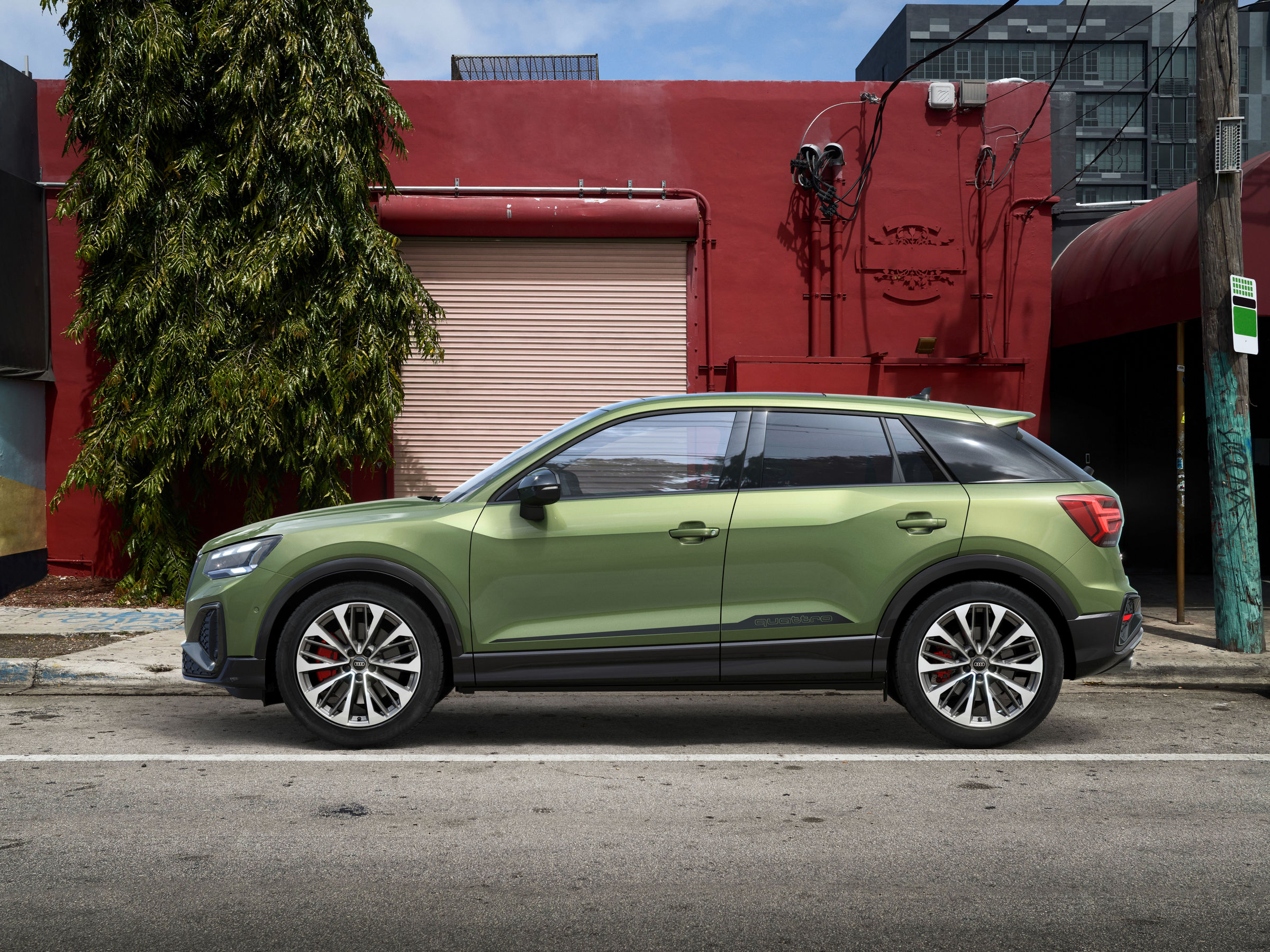 Exceptional compact sports car for individualists: Audi gives the SQ2 an even sharper design - Brand Spur