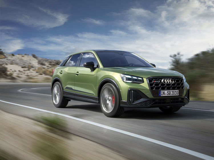 Exceptional compact sports car for individualists: Audi gives the SQ2 an even sharper design