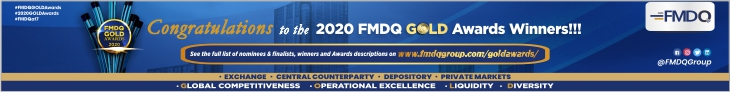 FMDQ Group Brandspurng Unveils Winners of its 3rd Annual GOLD Awards (Photos)