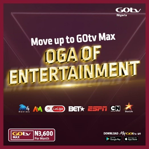 GOtv Nigeria Refreshes Brand with Bold New Look, Pay-off Line Brandspurng