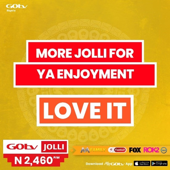 GOtv Nigeria Refreshes Brand with Bold New Look, Pay-off Line Brandspurng4