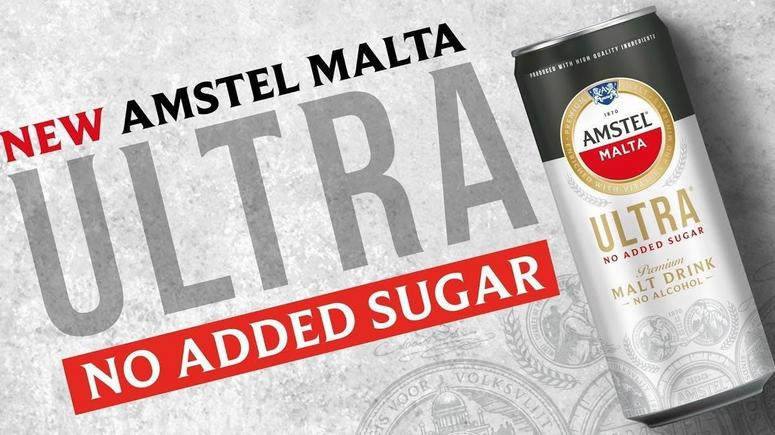 Have you seen the new Amstel Malta Ultra Brandspurng