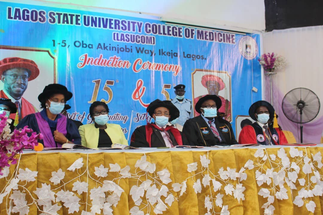 Hold your heads high, Fabamwo charges newly inducted Doctors