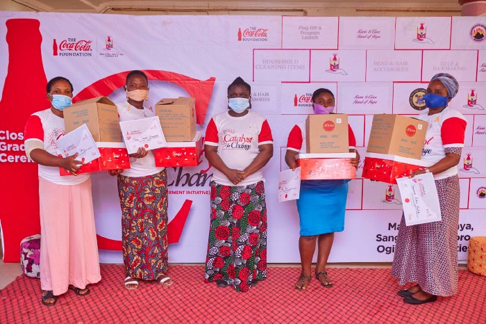 How Coca-Cola Empowered 1000 Women in Ogijo