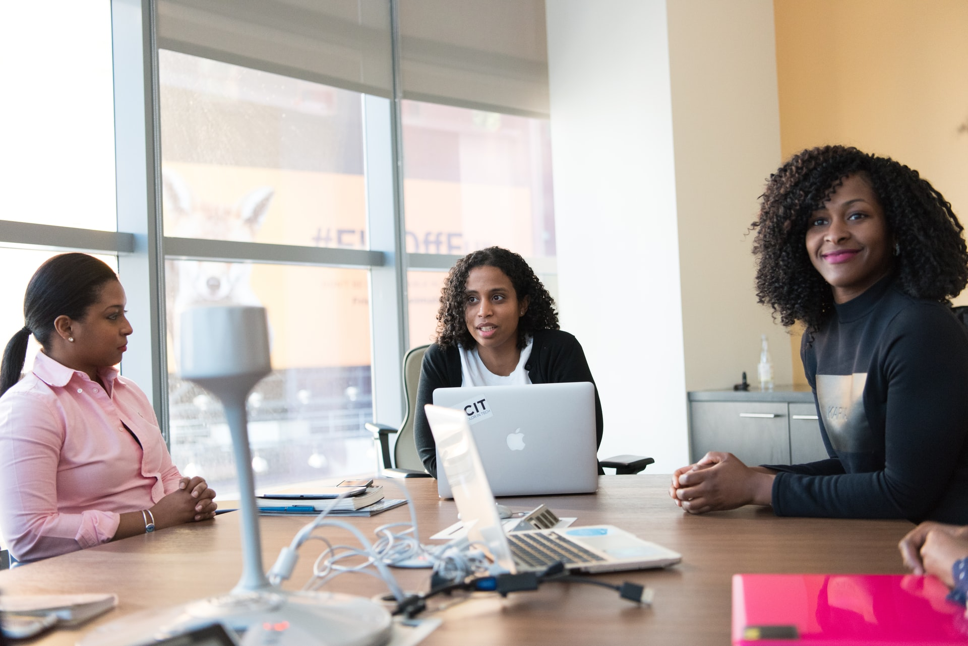 How should an employer handle a discrimination case?