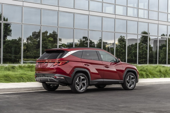 Hyundai Reveals All-New 2022 Tucson SUV Brandspurng