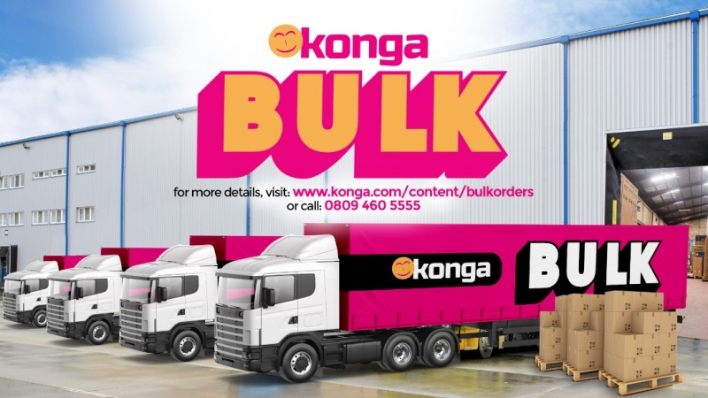 BREAKING: Konga Bulk offers 35,000 laptops, PCs, others at huge discounts Friday