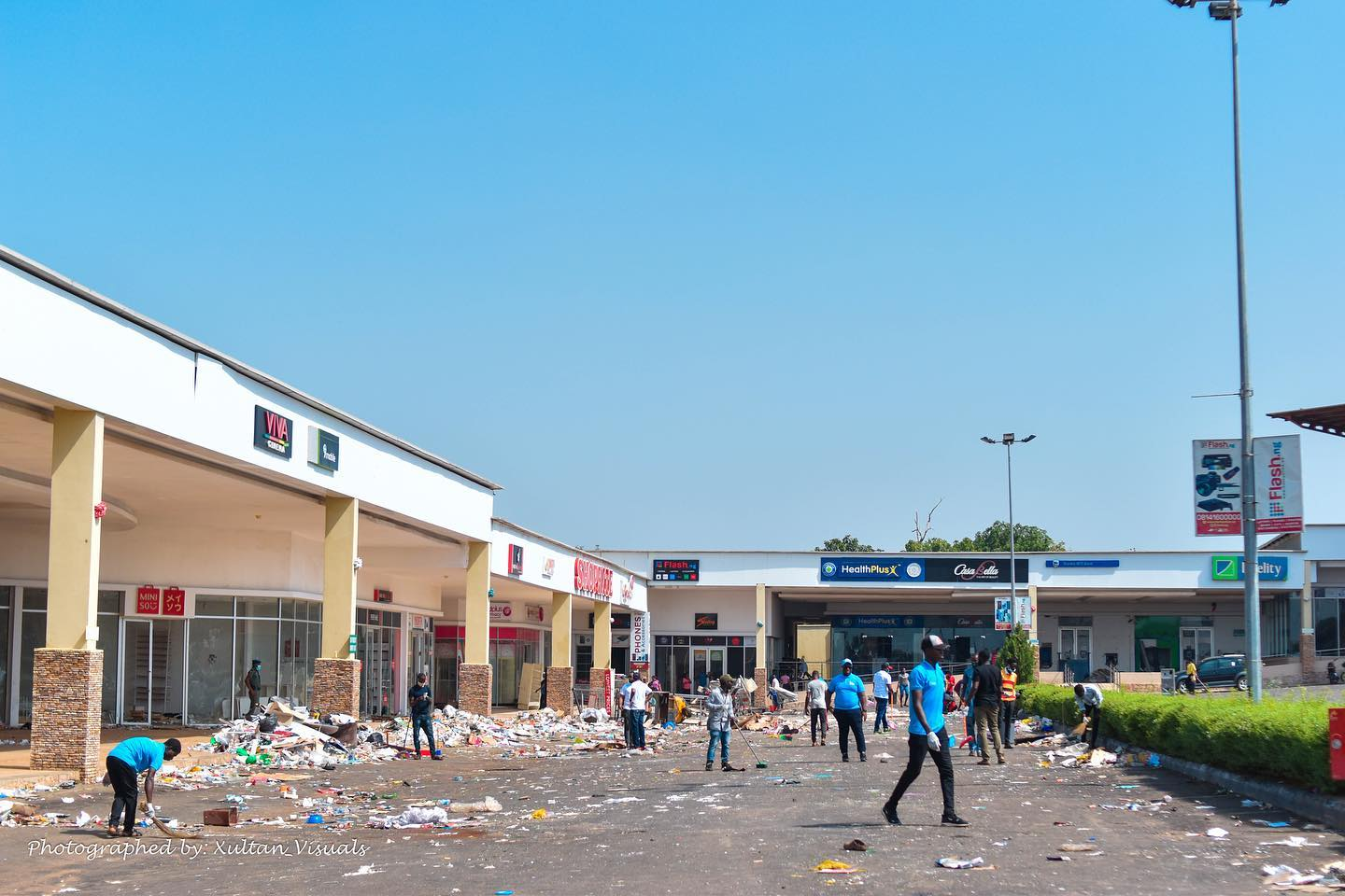 Kwara Mall Looting - Before and After the Clean Up (Photos) - Brand Spur