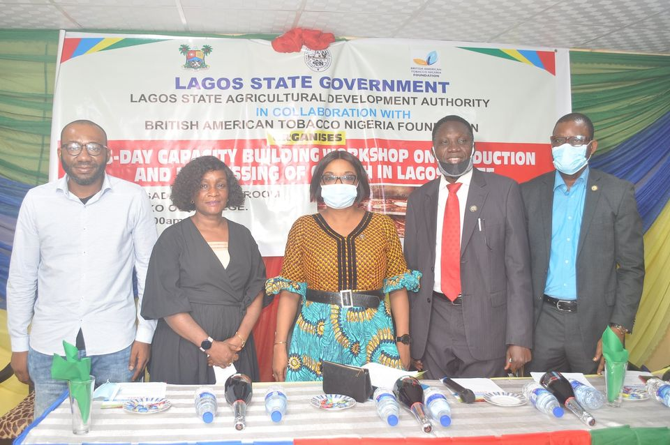 LSADA partners BATN foundation to train 200 catfish farmers on best practices